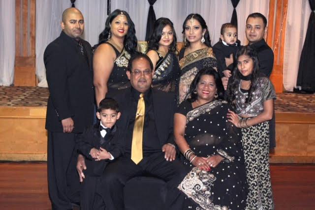Parmendra Narayan family